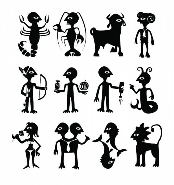 Знаки зодиака картинки юмористические